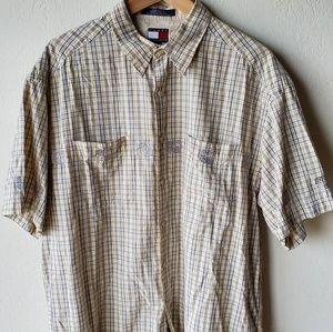 Tommy Hilfiger vintage 90s short sleeve button up